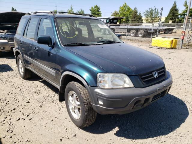 Salvage cars for sale from Copart Eugene, OR: 1998 Honda CR-V EX