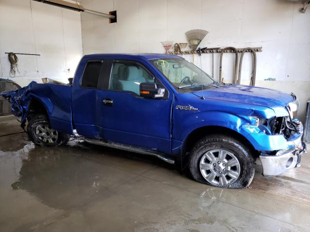 Salvage cars for sale from Copart Portland, MI: 2012 Ford F150 Super