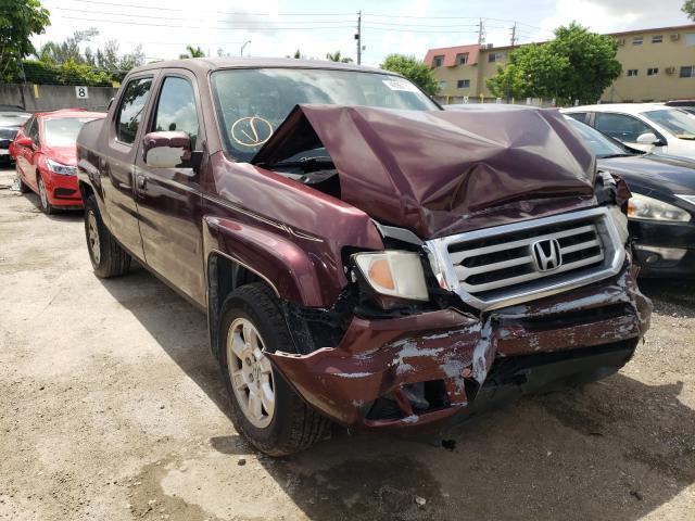 Salvage cars for sale from Copart Opa Locka, FL: 2013 Honda Ridgeline