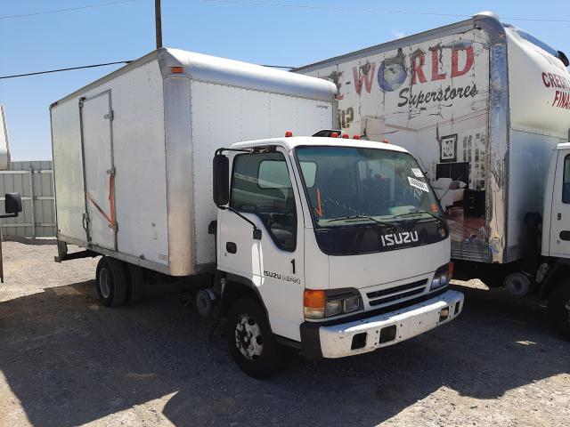Salvage trucks for sale at Las Vegas, NV auction: 2005 Isuzu NPR