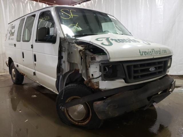 Salvage cars for sale from Copart Central Square, NY: 2003 Ford Econoline