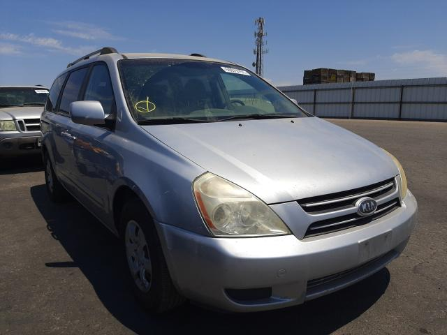 Salvage cars for sale from Copart Fresno, CA: 2006 KIA Sedona EX