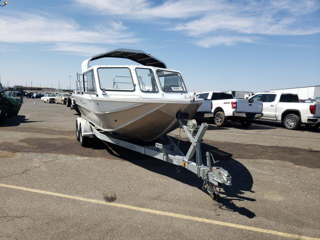 Salvage cars for sale from Copart Pasco, WA: 2006 Wells Cargo Boat