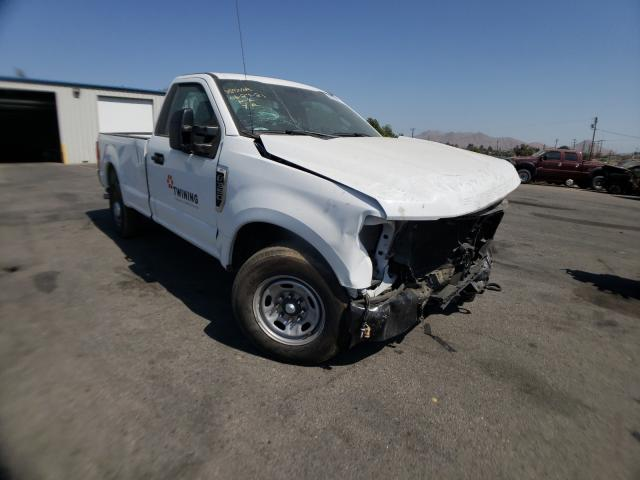 Salvage cars for sale from Copart Colton, CA: 2020 Ford F350 Super