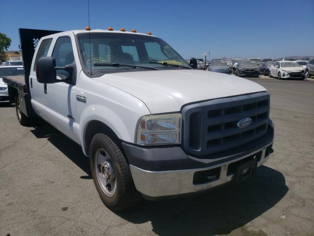 Salvage cars for sale from Copart Martinez, CA: 2006 Ford F350 SRW S