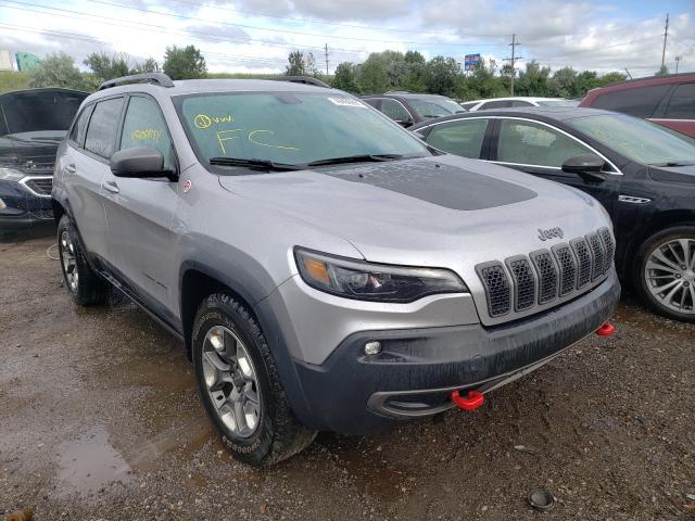 2019 Jeep Cherokee T en venta en Woodhaven, MI