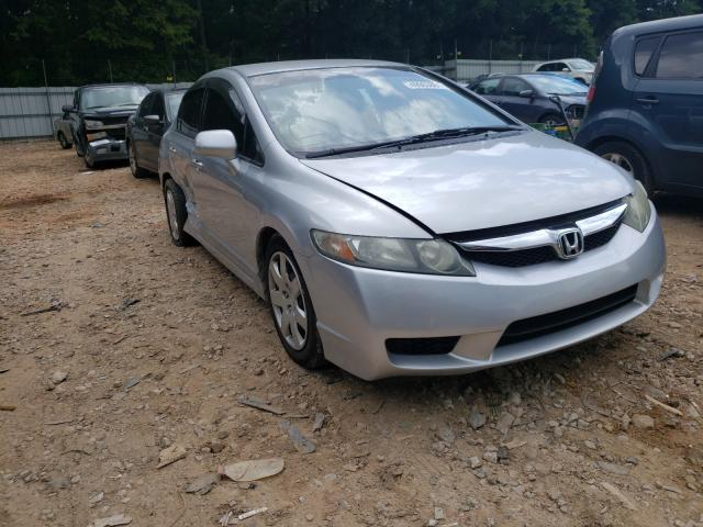 Salvage cars for sale from Copart Austell, GA: 2011 Honda Civic LX