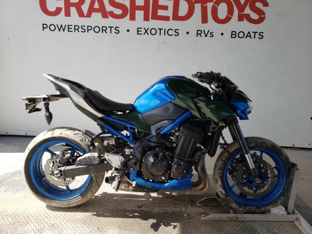 Kawasaki ZR900 F salvage cars for sale: 2020 Kawasaki ZR900 F