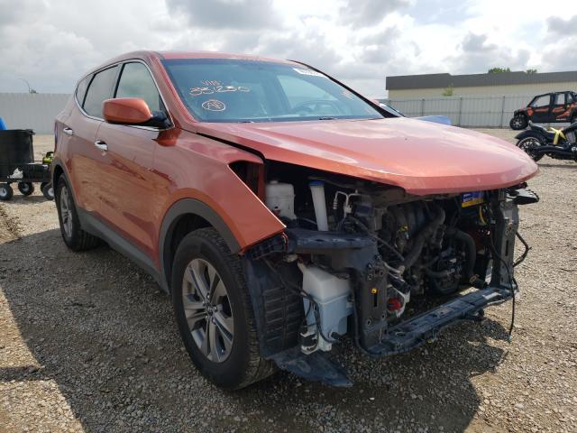 Vehiculos salvage en venta de Copart Bismarck, ND: 2016 Hyundai Santa FE S