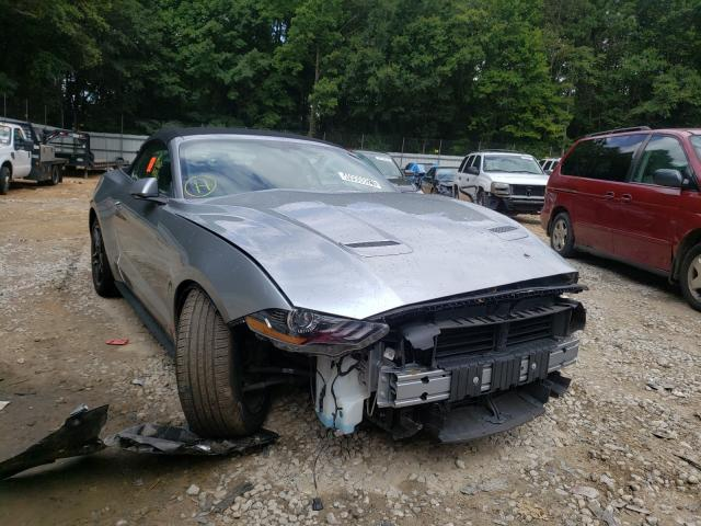 Salvage cars for sale from Copart Austell, GA: 2020 Ford Mustang