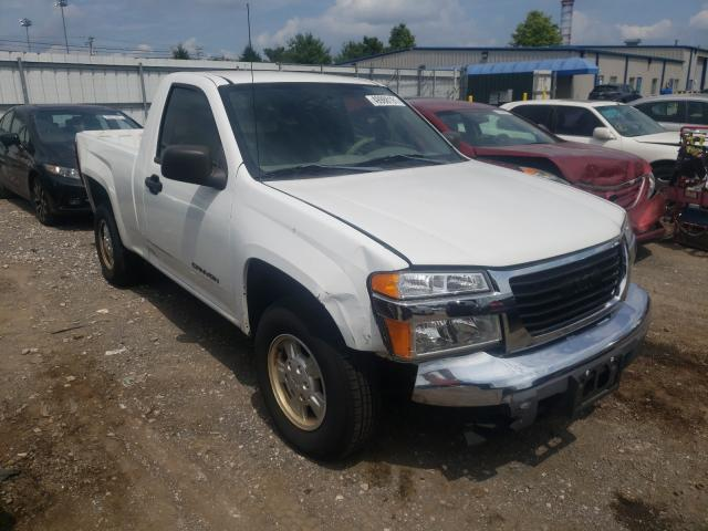 Salvage cars for sale at Finksburg, MD auction: 2005 GMC Canyon