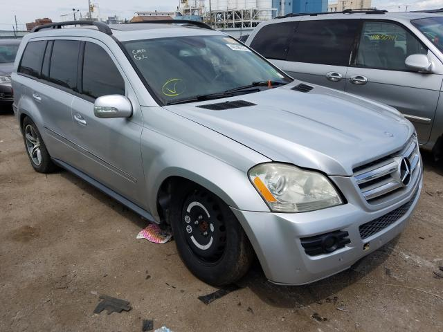 Salvage cars for sale from Copart Chicago Heights, IL: 2007 Mercedes-Benz GL 450 4matic