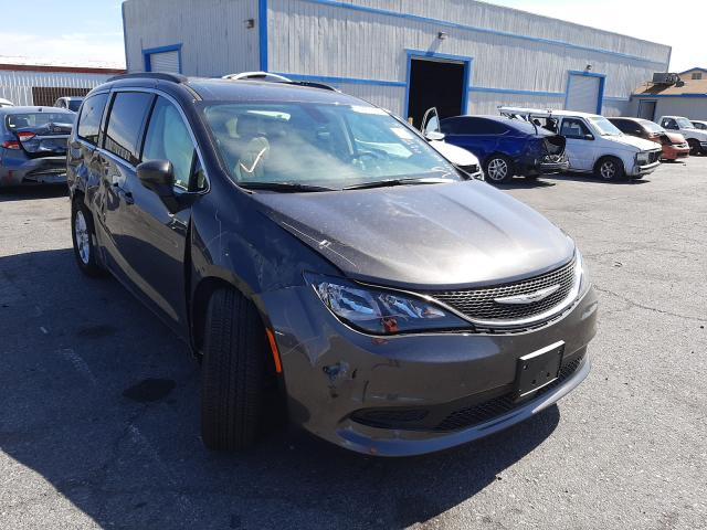 Salvage cars for sale from Copart Las Vegas, NV: 2021 Chrysler Voyager LX