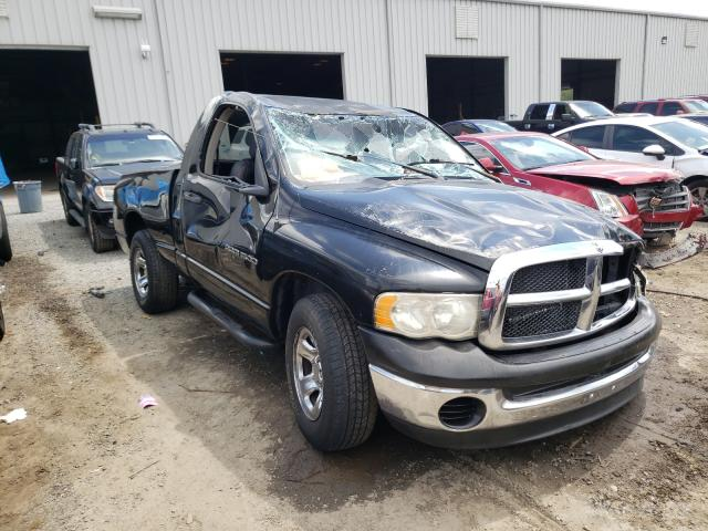 Salvage cars for sale from Copart Jacksonville, FL: 2002 Dodge RAM 1500