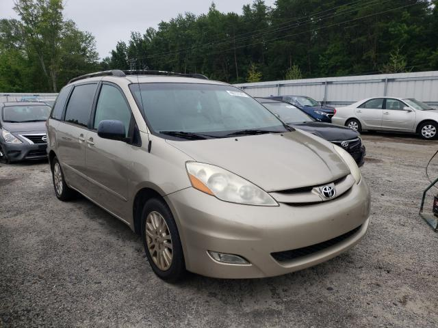 Salvage cars for sale from Copart Fredericksburg, VA: 2008 Toyota Sienna XLE
