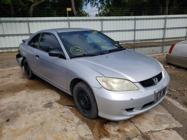 Salvage cars for sale from Copart Corpus Christi, TX: 2005 Honda Civic DX V