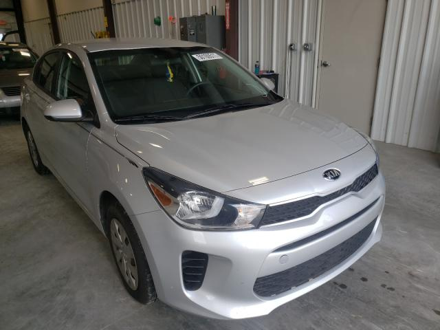 Salvage cars for sale from Copart Byron, GA: 2020 KIA Rio LX
