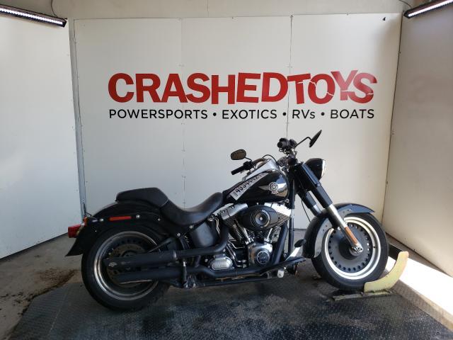 Salvage cars for sale from Copart Kansas City, KS: 2013 Harley-Davidson Flstfb FAT