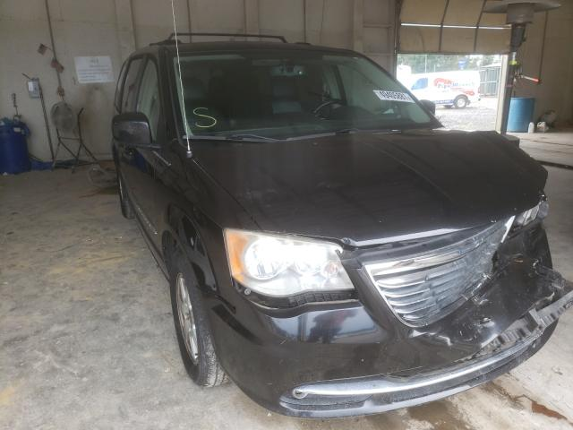 Salvage cars for sale from Copart Madisonville, TN: 2012 Chrysler Town & Country