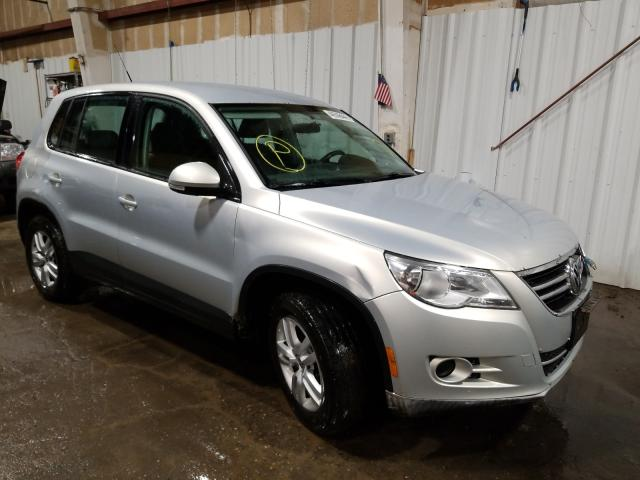 Salvage cars for sale from Copart Anchorage, AK: 2010 Volkswagen Tiguan SE