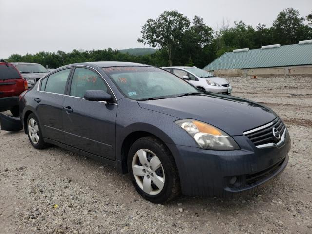 Salvage cars for sale from Copart West Warren, MA: 2007 Nissan Altima 2.5