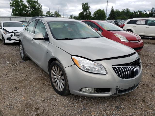 Salvage cars for sale from Copart Lansing, MI: 2011 Buick Regal CXL