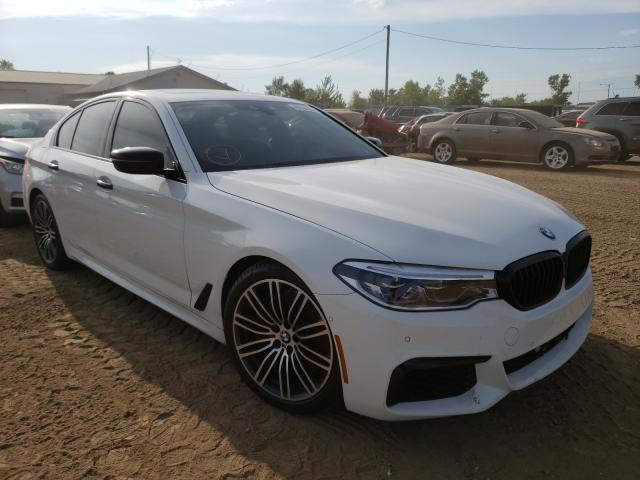 Salvage cars for sale from Copart Pekin, IL: 2018 BMW M550XI
