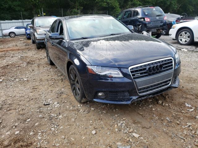 Salvage cars for sale from Copart Austell, GA: 2012 Audi A4 Premium