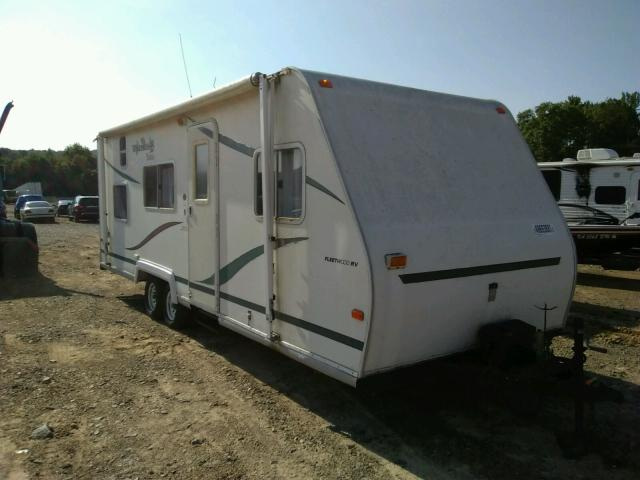 Fleetwood salvage cars for sale: 2001 Fleetwood Wilderness