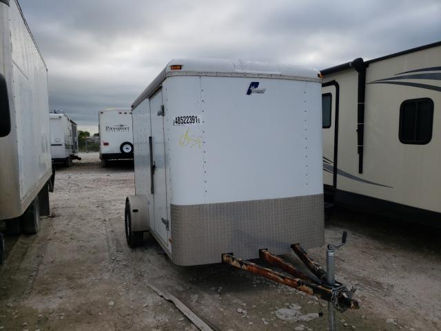 Pace American salvage cars for sale: 2004 Pace American Cargo Trailer
