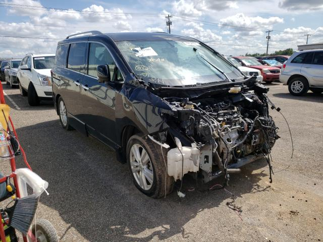 Salvage cars for sale from Copart Oklahoma City, OK: 2015 Nissan Quest S