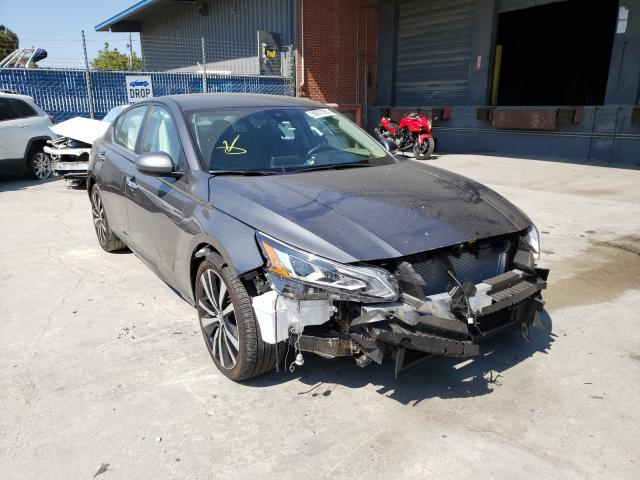 Salvage cars for sale from Copart Hayward, CA: 2021 Nissan Altima SV