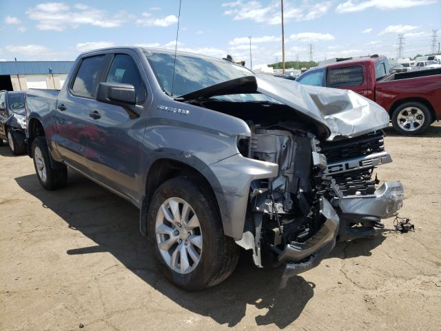 Salvage cars for sale from Copart Woodhaven, MI: 2020 Chevrolet Silverado
