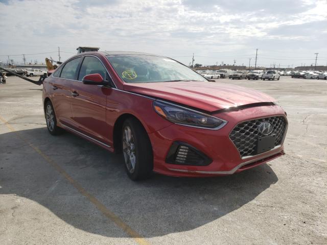 Vehiculos salvage en venta de Copart Sun Valley, CA: 2019 Hyundai Sonata LIM