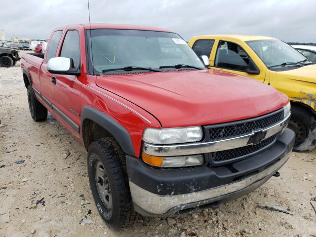 Salvage cars for sale from Copart New Braunfels, TX: 2001 Chevrolet Silverado