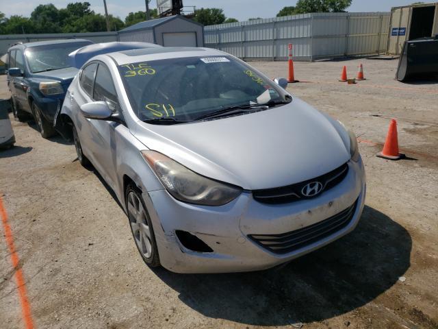 Salvage cars for sale at Wichita, KS auction: 2011 Hyundai Elantra GL