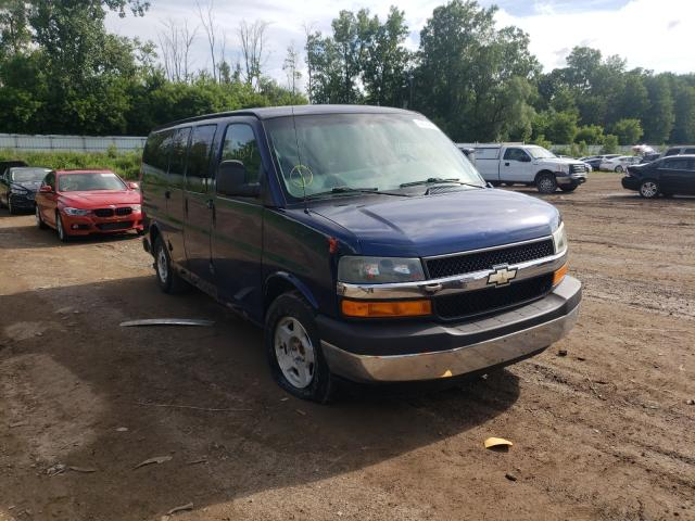 Salvage cars for sale from Copart Davison, MI: 2004 Chevrolet Express G1