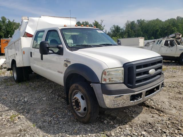 Salvage cars for sale from Copart Spartanburg, SC: 2007 Ford F450 Super
