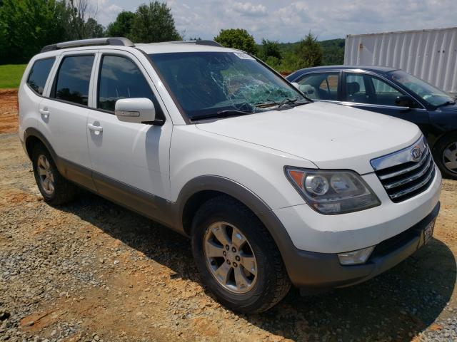 Salvage cars for sale from Copart Concord, NC: 2008 KIA Borrego LX