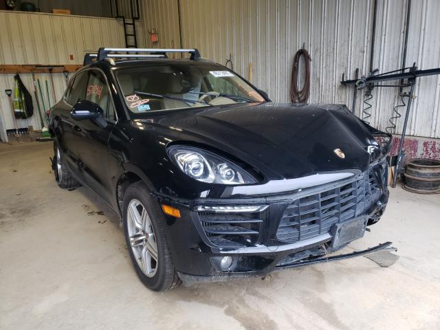 Salvage cars for sale from Copart Lyman, ME: 2016 Porsche Macan S