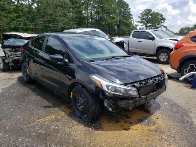 KIA Forte LX salvage cars for sale: 2017 KIA Forte LX