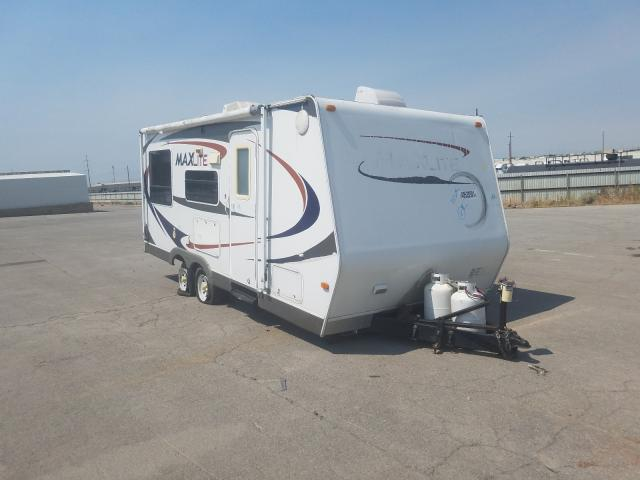 MAX salvage cars for sale: 2009 MAX Trailer