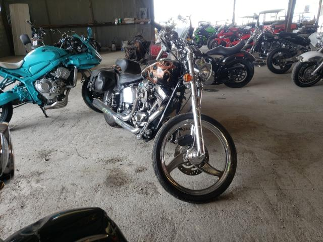 Salvage cars for sale from Copart Lebanon, TN: 2001 Harley-Davidson Fxstd