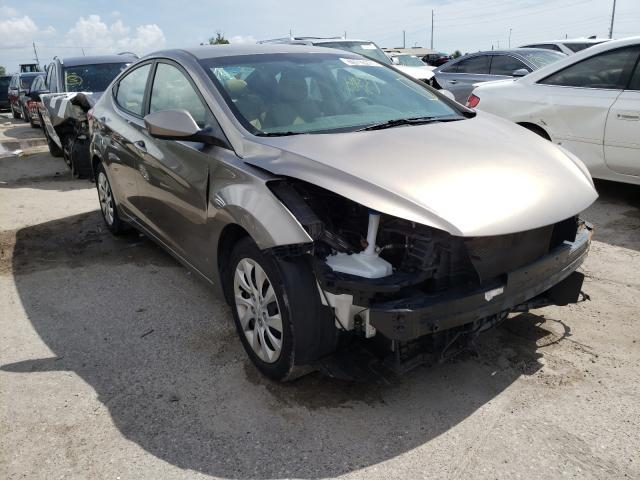 Hyundai salvage cars for sale: 2013 Hyundai Elantra GL