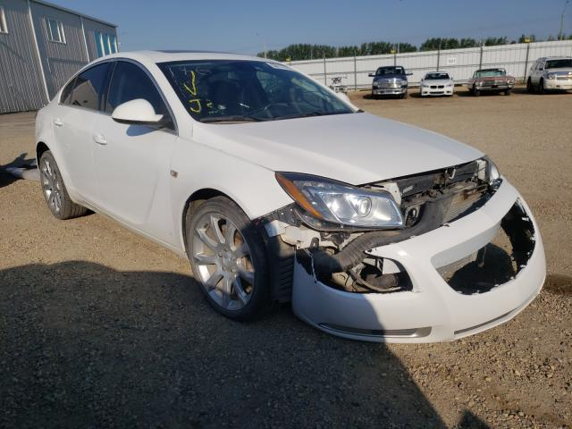 Buick salvage cars for sale: 2011 Buick Regal CXL