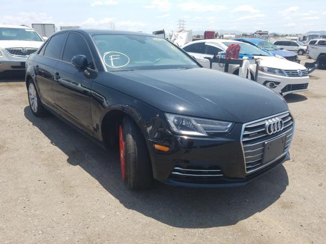 Salvage cars for sale from Copart Tucson, AZ: 2017 Audi A4 Premium