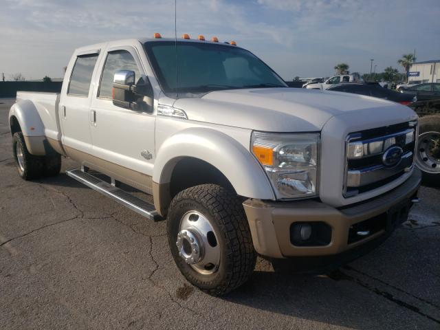 Salvage cars for sale from Copart Apopka, FL: 2012 Ford F450 Super