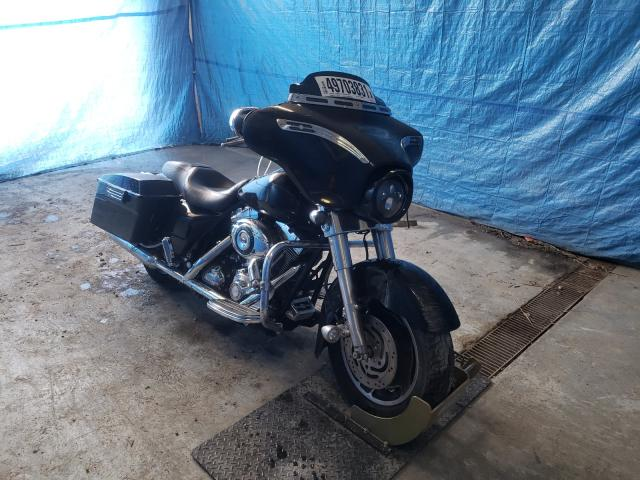 Salvage cars for sale from Copart Northfield, OH: 2007 Harley-Davidson Flhx