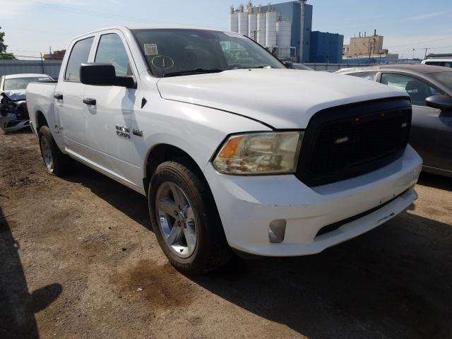 Salvage trucks for sale at Chicago Heights, IL auction: 2015 Dodge RAM 1500 ST