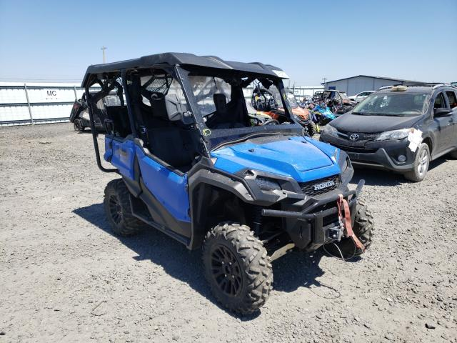 Salvage motorcycles for sale at Airway Heights, WA auction: 2020 Honda SXS1000 M5